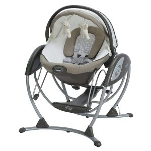 Gliding Baby Swing from Graco for infant