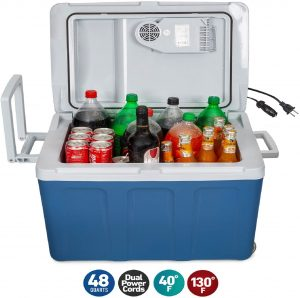 Koozam Cooler and Warmer Portable Mini Refrigerator