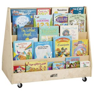 Double-Sided Book Carts For Kids By ECR4Kids