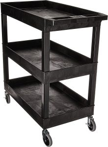 Luxor EC111-B Tub Storage Cart