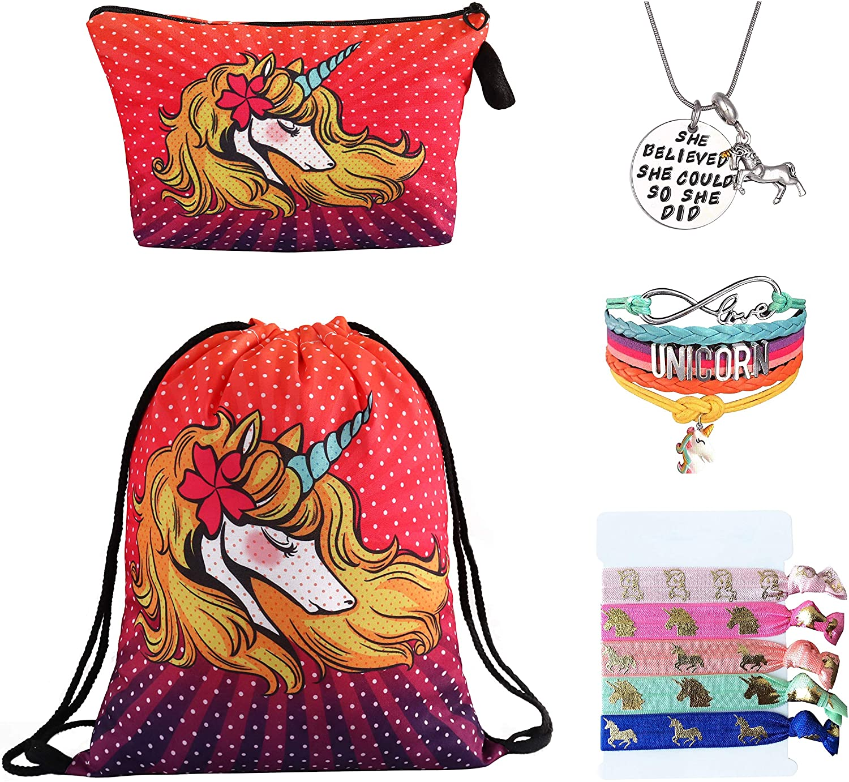 Unicorn Christmas Gift Bags For Girls