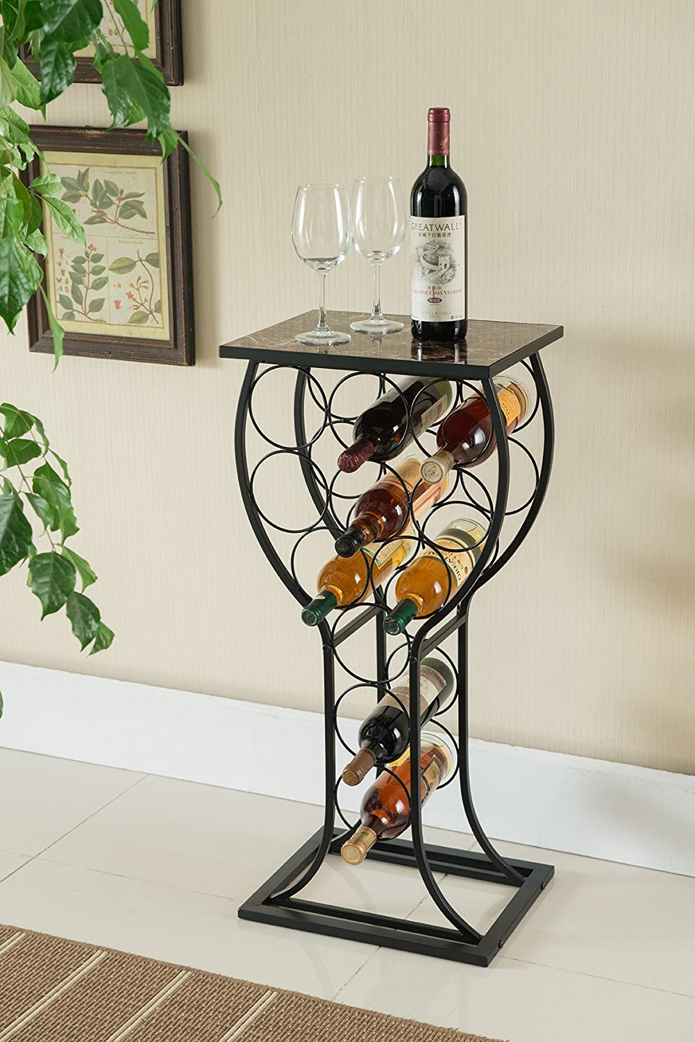 Wine Organizer From Kings Brand Furniture