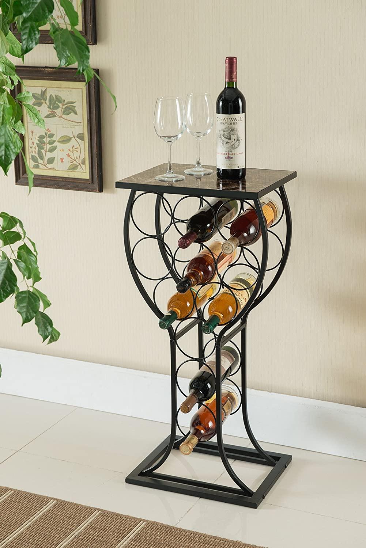Wine Organizer From Kings Brand Furniture