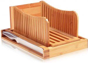 Bmbusi Wooden Bread Slicer