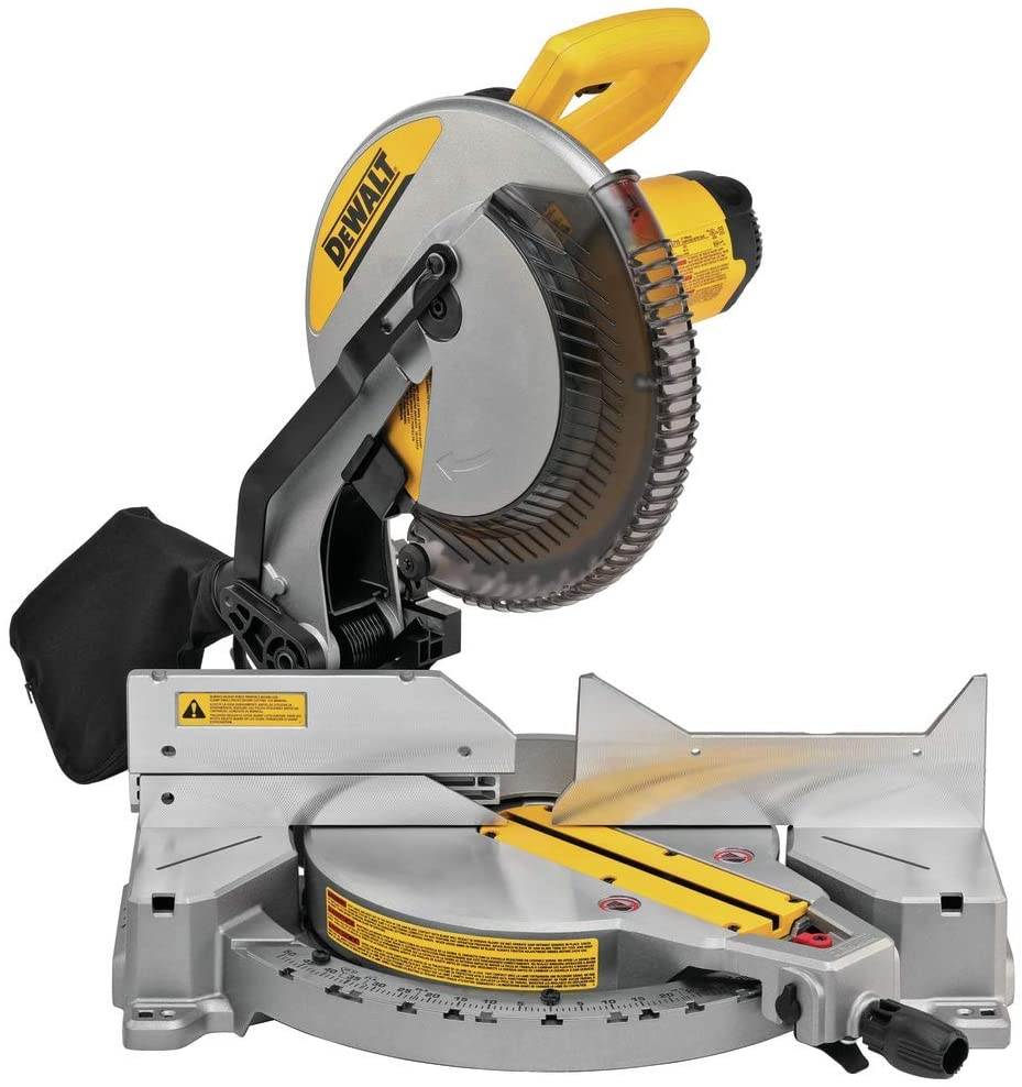 DEWALT With A 12-Inch Miter Saw