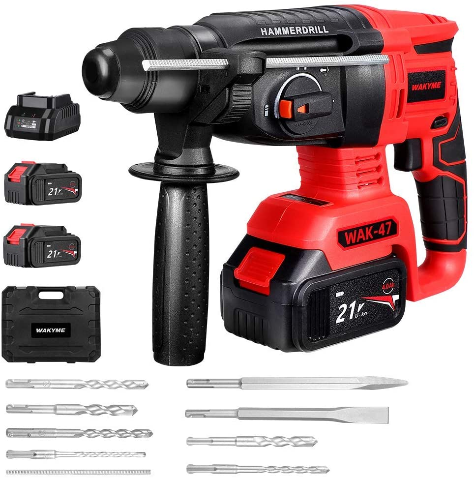 Rotary Hammer Drill by WAKYME