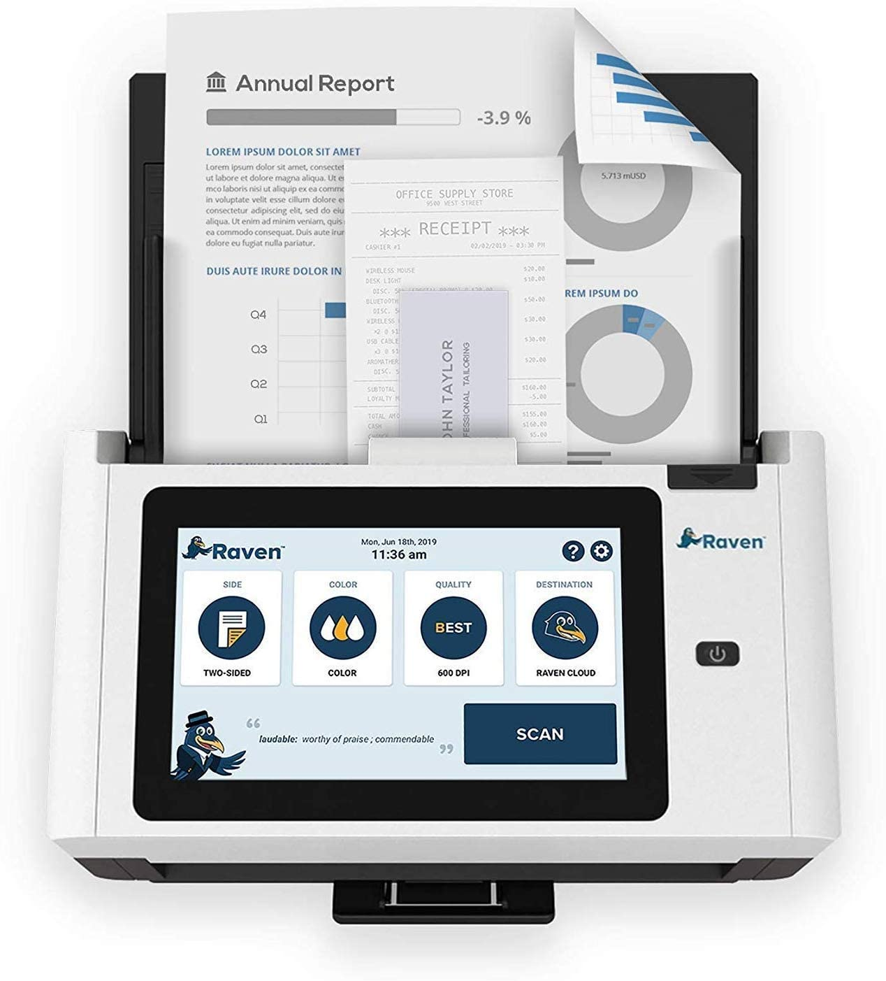 Raven Pro Document Scanner