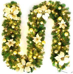 Vvciic Wonderful Christmas Garland