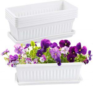 YINGERHUAN's Plastic Planter Box