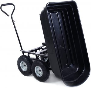 Garden Dump Cart Wheel Barrel