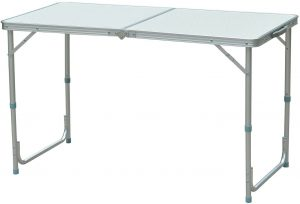 Outsunny Lightweight Portable Foldable Table for Camping
