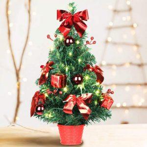 SHareconn Colorful Christmas Mini Tree
