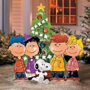 Christmas PEANUTS CHARLIE BROWN & FRIENDS Ornament by Improvements