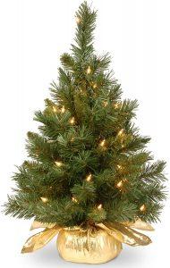 National Tree Company Pre-lit Majestic Fir Mini Christmas Tree