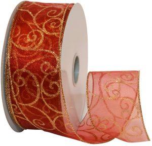 Morex 50 Yards Swirl Ribbon