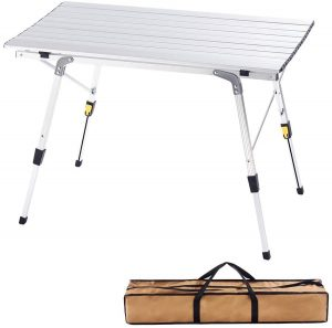 CampLand Folding Portable Table for Camping