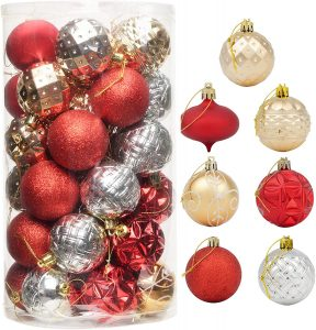 Christmas Ball Ornaments For A Decoration