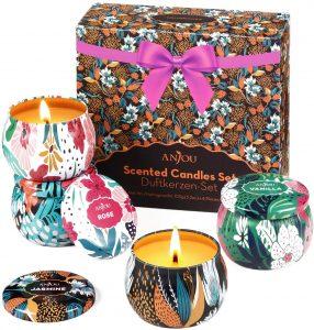 Natual Soy Wax Christmas Candle