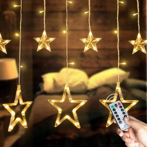 12-Stars String Light With 138 LEDs From Brightown