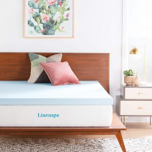 LINENSPA Cozy Foam Mattress Topper