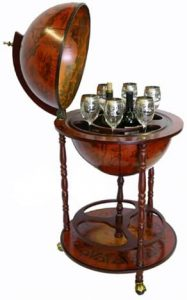 16 Th-Century Wine Bar Stand With Italian Style Form Ehomeproducts
