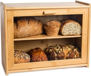 Wooden Bread Box From Laura's Green Kitchen