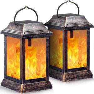 Tomcare Solar Outdoor Lantern Light For Lightweight Design