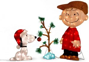 Charlie Brown, Snoopy & The Lonely Tree Ornament by Peanuts Worldwide
