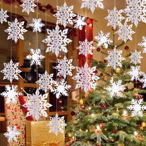 Christmas Snowflake For Hanging Decoration