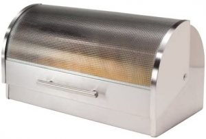 Stainless Steel Box For Bread By Oggi