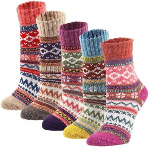 Soft Warm Sock For Women With Vintage Style