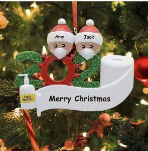 The Quarantine Christmas Ornament Decorating Kit