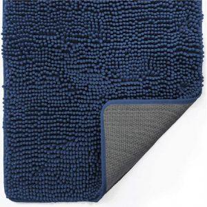 Gorilla Grip Indoor Durable Blue Anti Mud Doormat