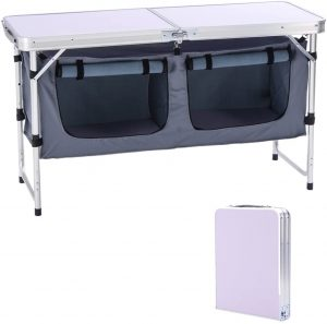 CampLand Portable Folding Table for Camping