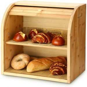 G.a HOMEFAVOR Wooden Box For Bread