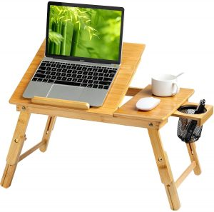 HUANUO Laptop Bed Desk Table