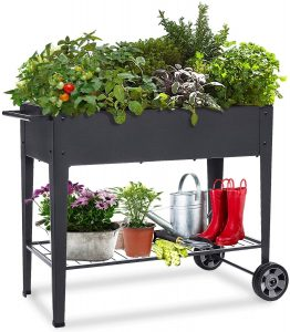 FOYUEE's Planter Box with Wheels