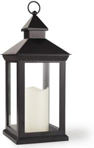 Vintage Outdoor Lanterns With Decorative Candle