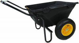 Polar Trailer Wheel Barrel Hauling Cart