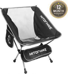 HITORHIKE Budget-friendly Portable Camping Chair