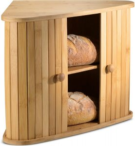 Bamboo Bread Box For Kitern Countertop From Klee