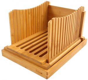 Foldable Bamboo Bread Loaf Slicer