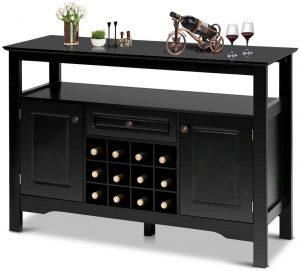 Modern Bar Cabinet From Giantex