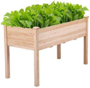 YAHEETECH's Wooden Planter Box