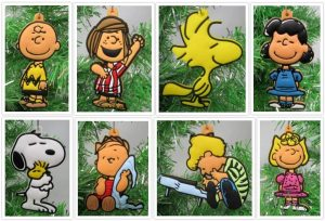 Charlie Brown Themed Christmas Ornaments by Holiday Ornaments