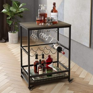 Wine Cart For Home From HOMECHO