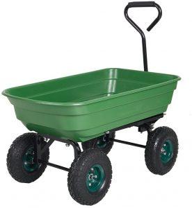 Livebest Wheel Barrel For Heavy-Duty