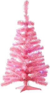 NOMA Small Pink Christmas Tree