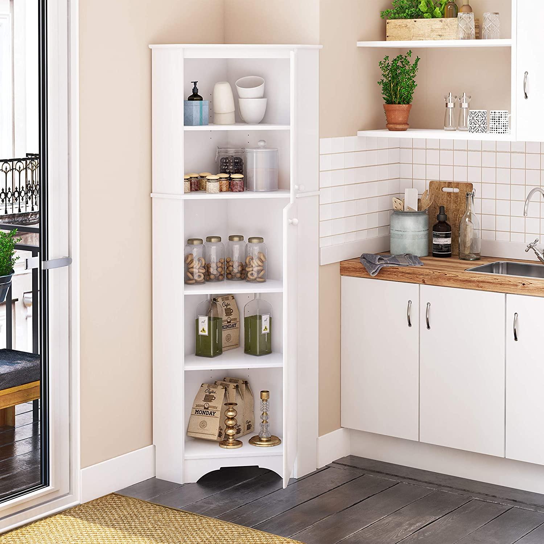 Top 10 Best Corner Pantry Cabinets In 2021 - Bestlist