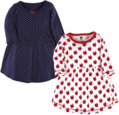Hudson Baby Girl's Cotton Christmas Dresses